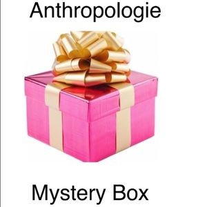 Anthropology Mystery Box ! 2 Pieces